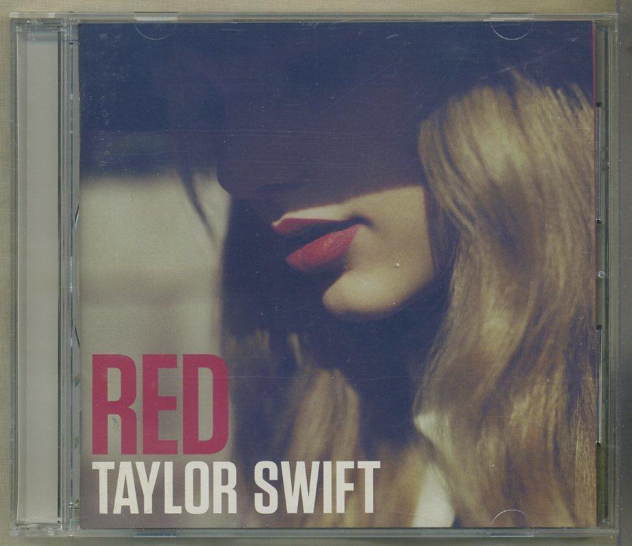 TAYLOR SWIFT/テイラー・スウィフト■『レッド』日本盤CDユーズド品