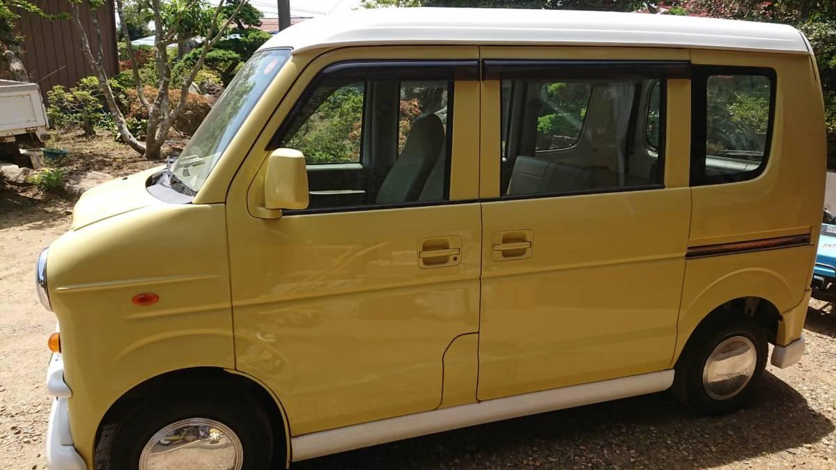 スズキエブリイワゴン 改造 移動販売・イベントなど使用可能 かわいい車です♪_画像4