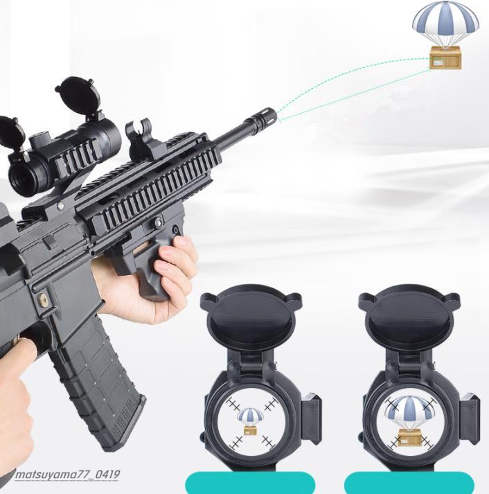 M416アサルトライフル 電気バースト機関銃 水鉄砲 しゃきょり約15-20メートル おもちゃの銃 TG137_画像3