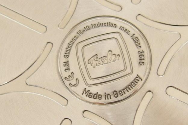 未使用保管品 フィスラー ビタクイック スキレット 2.5L 圧力フタ付き 圧力鍋 Fissler_画像7