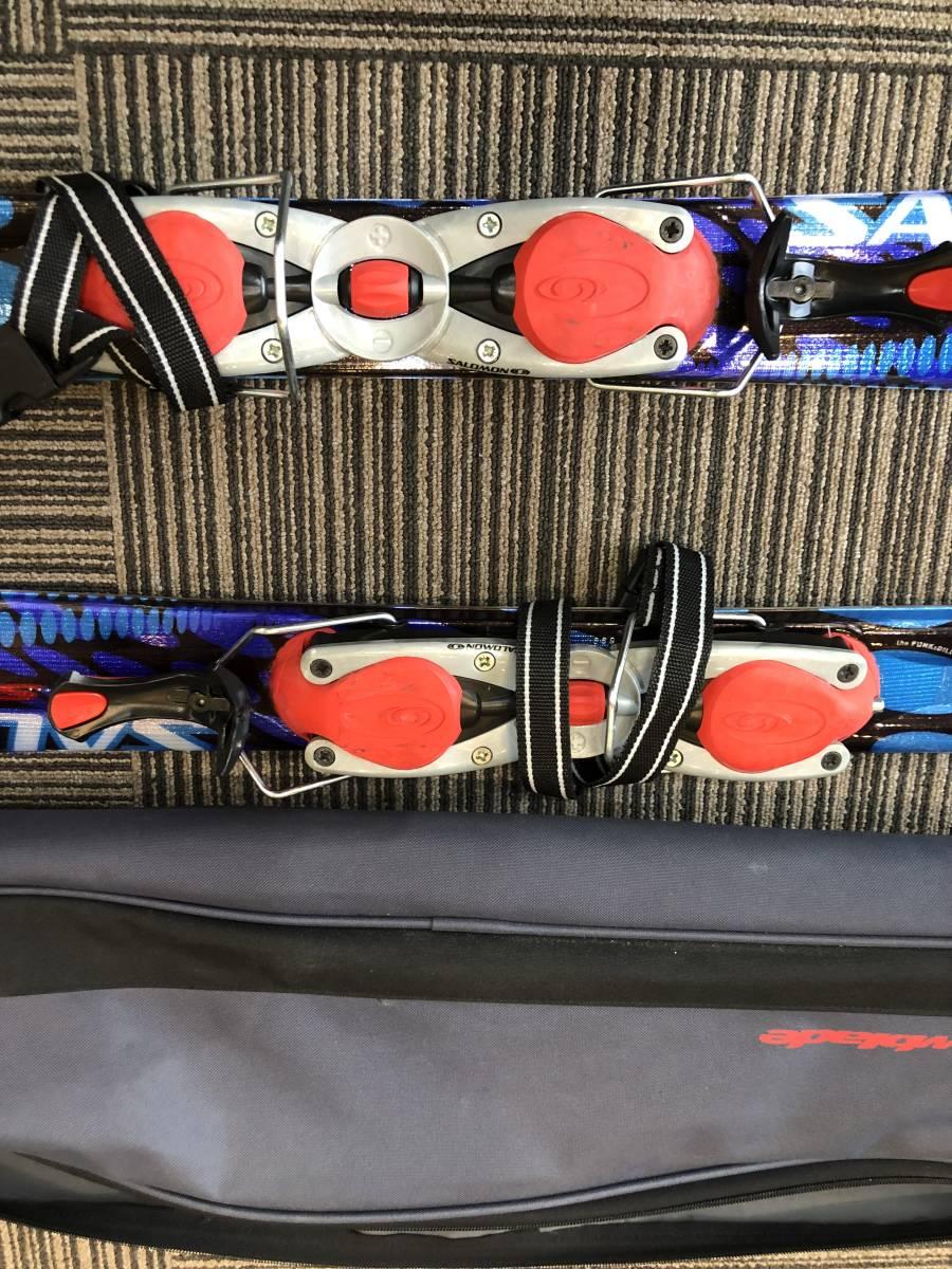 美品 サロモン SALOMOM ショート スキー 板 1円 _画像2