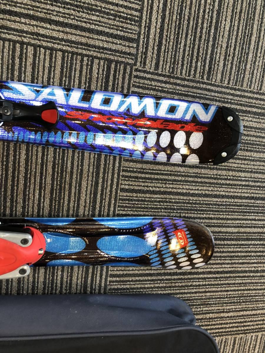 美品 サロモン SALOMOM ショート スキー 板 1円 _画像4