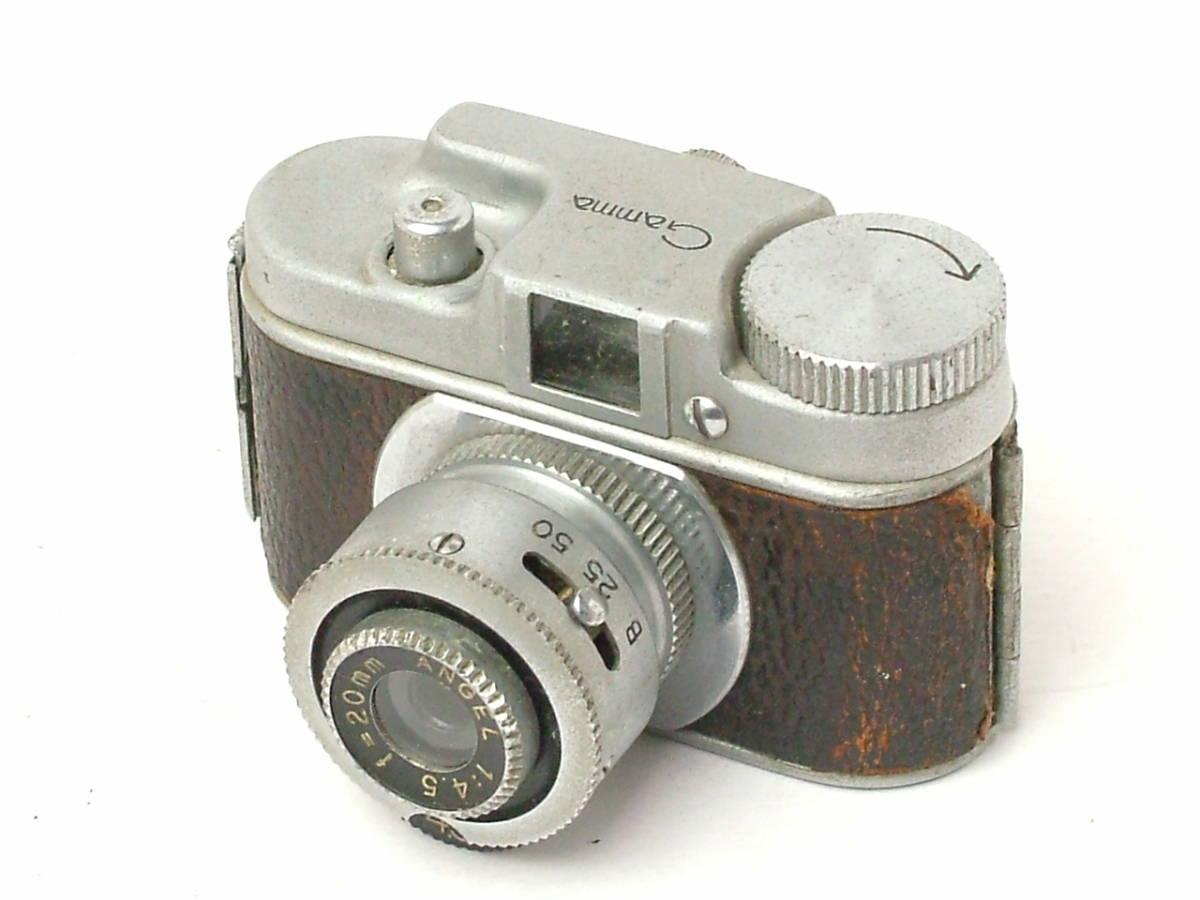 昭和レトロ 豆カメラ Gamma ANGEL 20mm F4.5 トイカメラ (ジャンク) 希少 OCCUPIED JAPAN