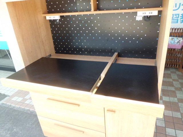 東馬 食器棚/キッチンボード 幅104.5(cm)_画像5
