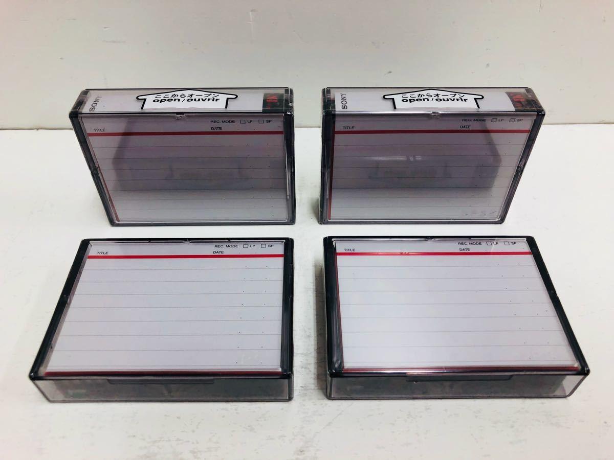 ☆新品 未開封☆SONY DVM60 MiniDV 60 デジタルビデオカセット ソニー 4本 セット まとめ_画像2
