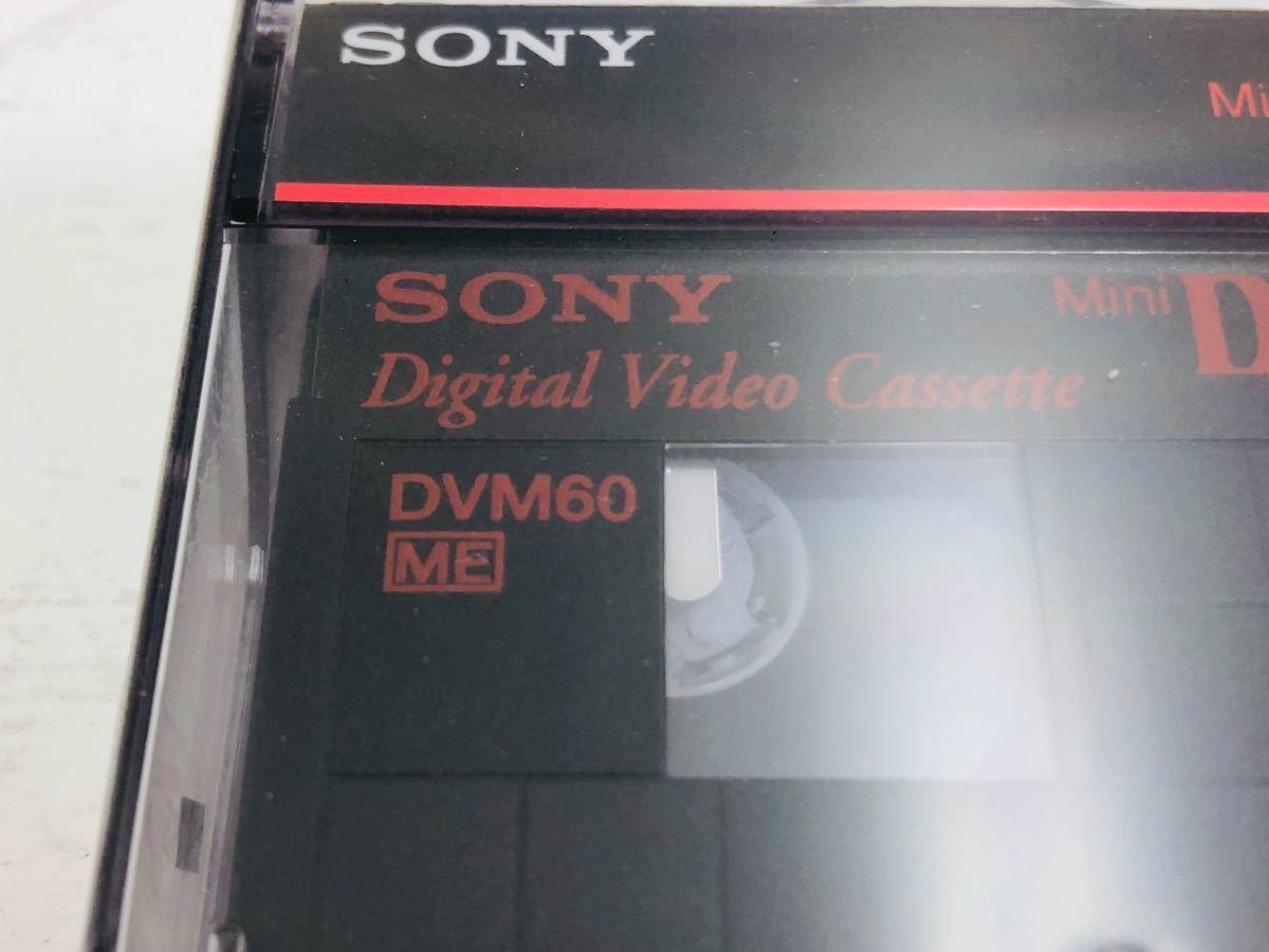 ☆新品 未開封☆SONY DVM60 MiniDV 60 デジタルビデオカセット ソニー 4本 セット まとめ_画像4