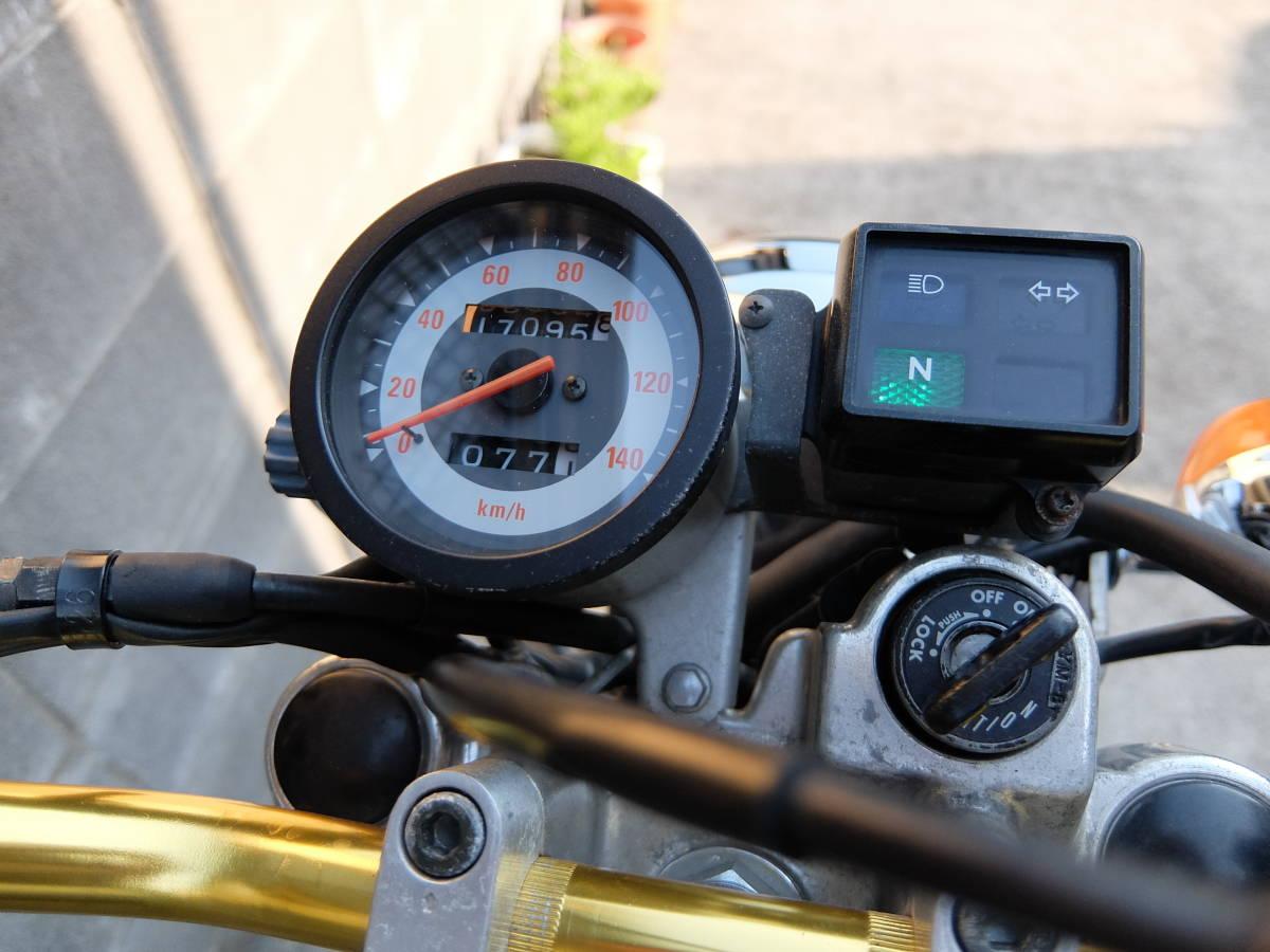 ヤマハ ブロンコ 225cc 17100km ほぼノーマル_画像7