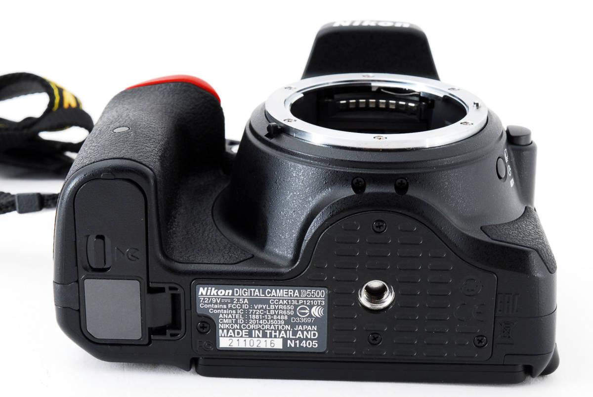 ●超美品●ニコン Nikon D5500 ボディ 純正カメラバッグ付き - 4034_画像8