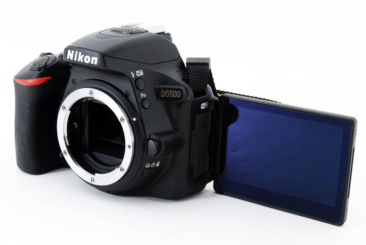 ●超美品●ニコン Nikon D5500 ボディ 純正カメラバッグ付き - 4034_画像6