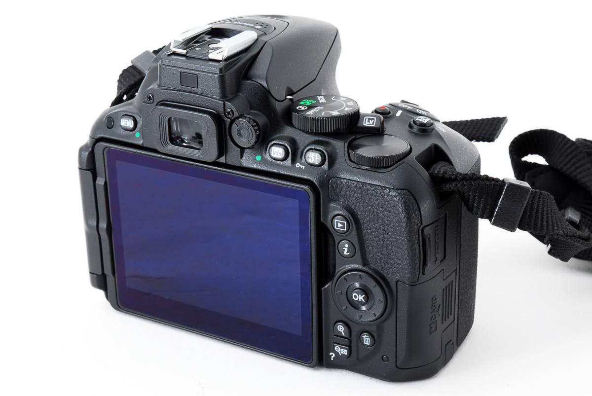 ●超美品●ニコン Nikon D5500 ボディ 純正カメラバッグ付き - 4034_画像4