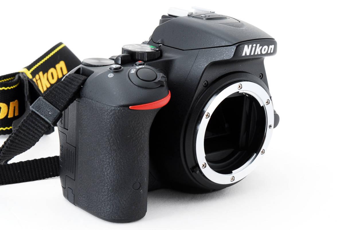 ●超美品●ニコン Nikon D5500 ボディ 純正カメラバッグ付き - 4034_画像3