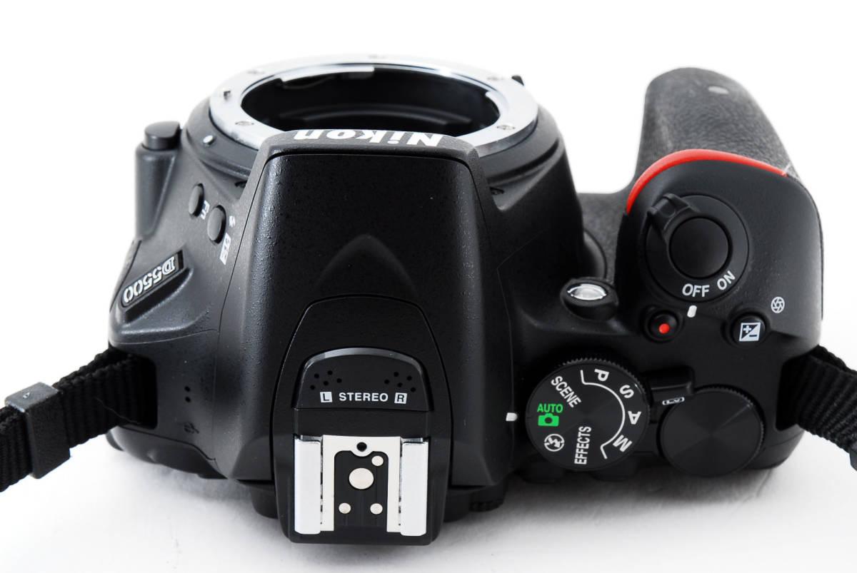 ●超美品●ニコン Nikon D5500 ボディ 純正カメラバッグ付き - 4034_画像7