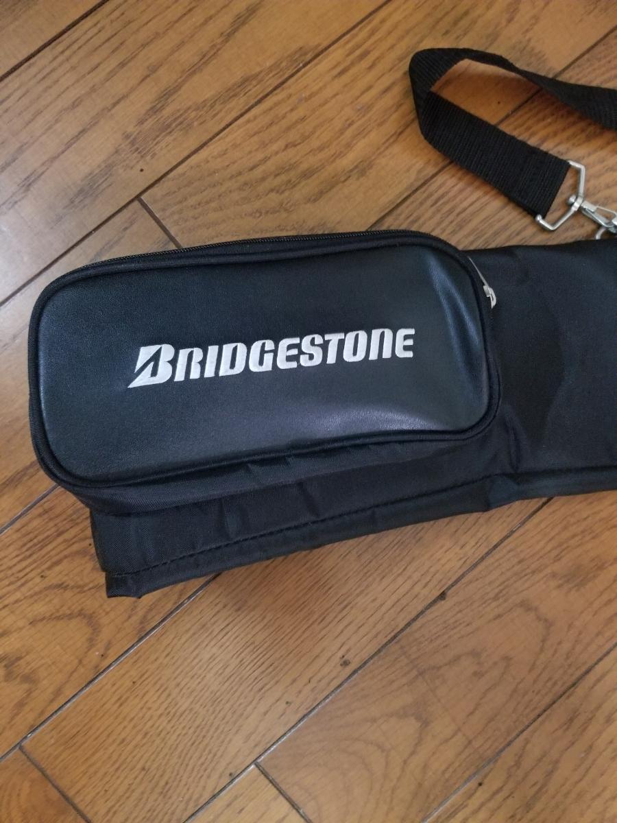 BRIDGESTONE ブリヂストン クラブケース ブラック ゴルフバック キャディバック ゴルフ用品_画像3