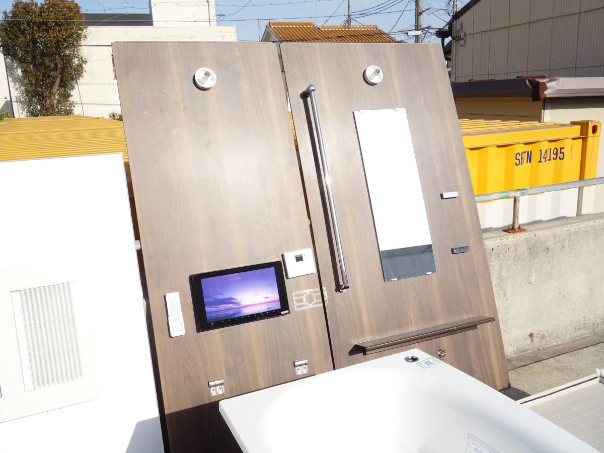 【新古品】M▽展示品 パナソニック ユニットバス システムバス 浴室 バスタブ お風呂 浴槽 バスルーム (08642)_画像5