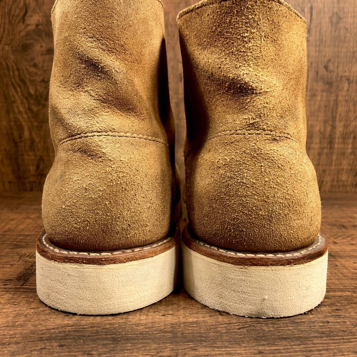 ■RED WING 8181■ 26cm US8D 茶 ブラウン レッドウィング ショートカットブーツ メンズ 革靴 靴 くつ ブーツ 即決_画像2