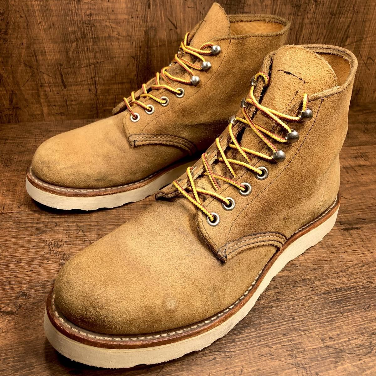 ■RED WING 8181■ 26cm US8D 茶 ブラウン レッドウィング ショートカットブーツ メンズ 革靴 靴 くつ ブーツ 即決_画像4