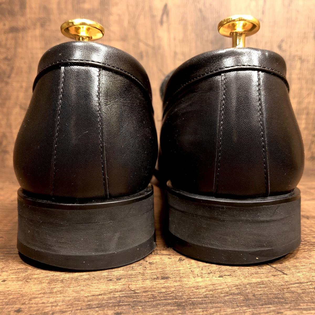 ■REGAL GORE-TEX■ 26.5cm 黒 ブラック リーガル ビットローファー ゴアテックス メンズ 革靴 靴 本革 ビジネス ドレス くつ 即決_画像2