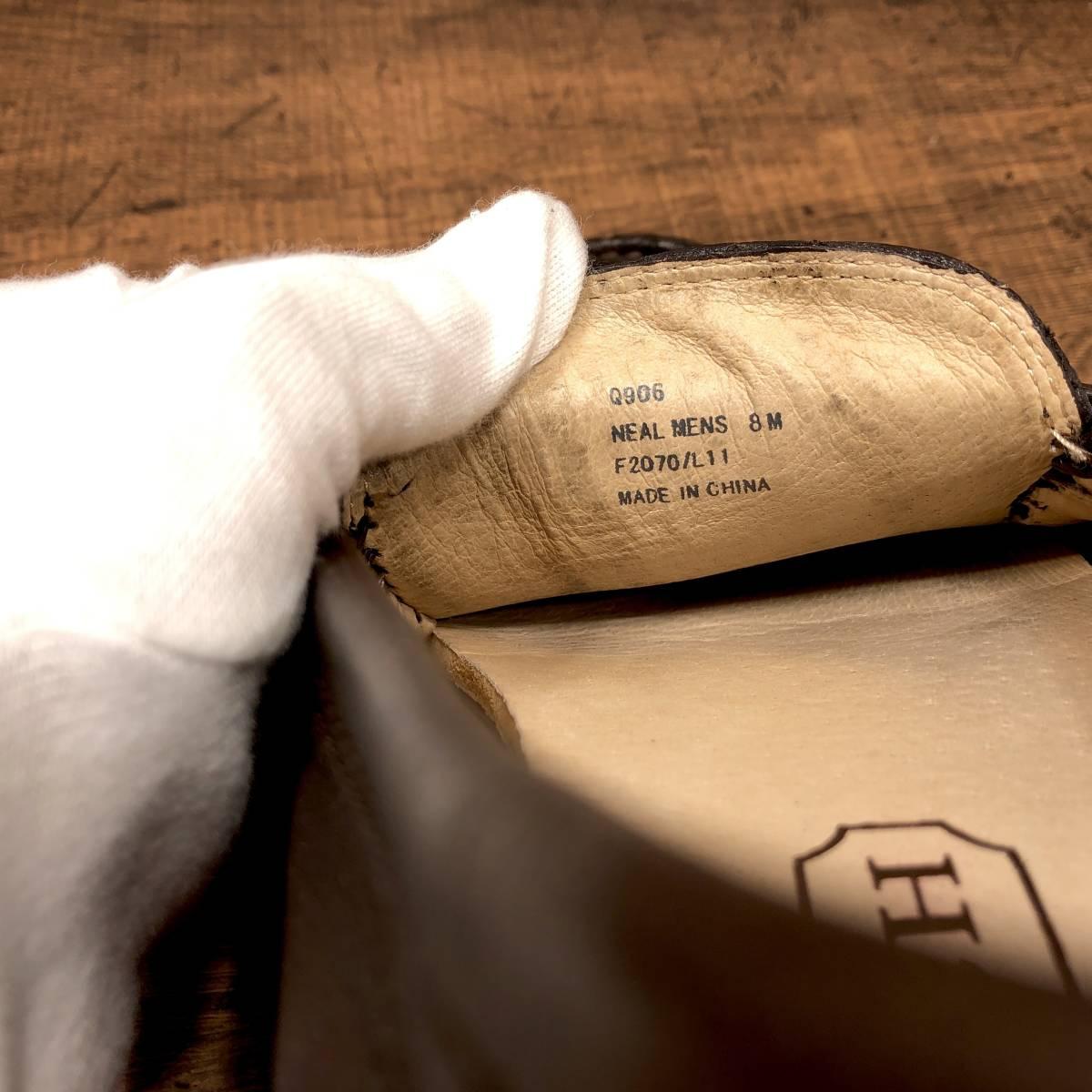 ■COACH■ 26cm 茶 ブラウン コーチ ドライビングシューズ コインローファー メンズ 革靴 靴 本革 ビジネス ドレス くつ 即決_画像6