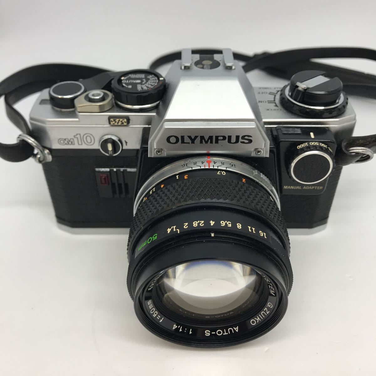 OLYMPUS オリンパス OM10 G.ZUIKO 1:1.4 50mm 一眼レフカメラ_画像2