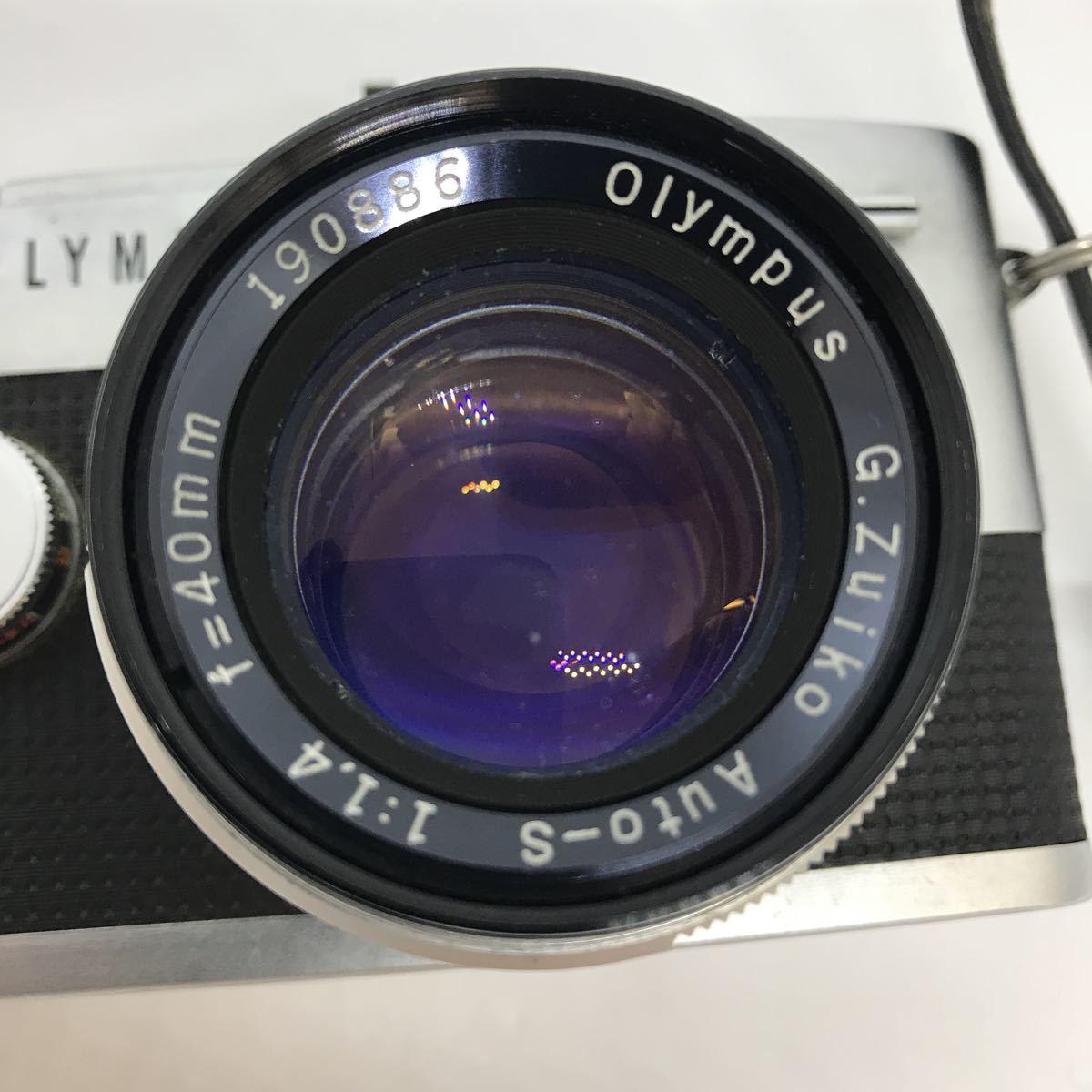 OLYMPUS オリンパス PEN F G.zuiko 1:1.4 40mm 一眼レフカメラ_画像3