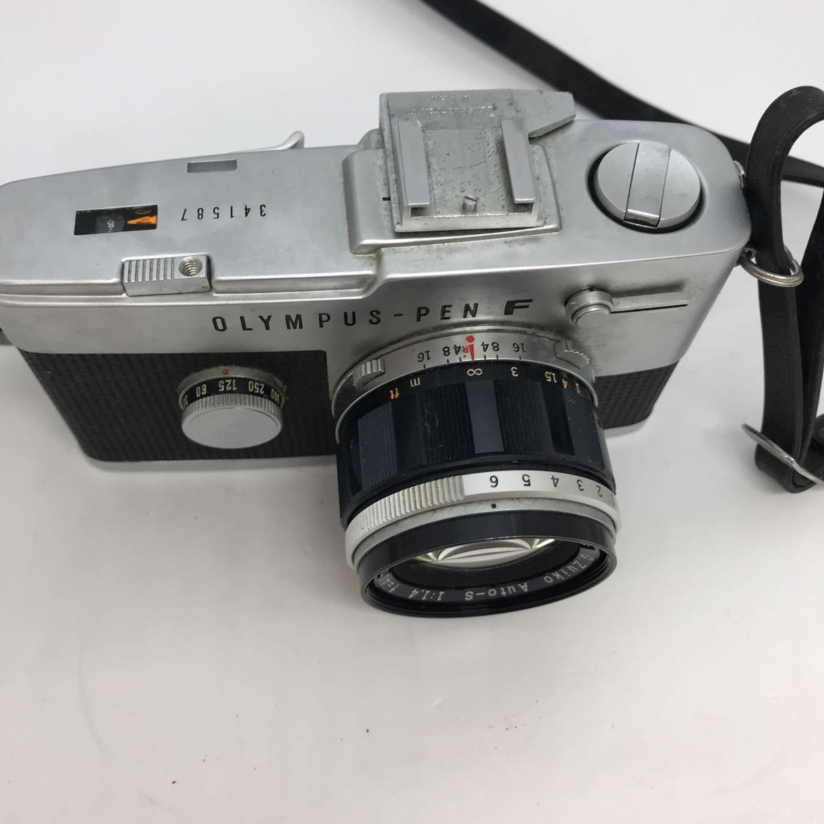 OLYMPUS オリンパス PEN F G.zuiko 1:1.4 40mm 一眼レフカメラ_画像2