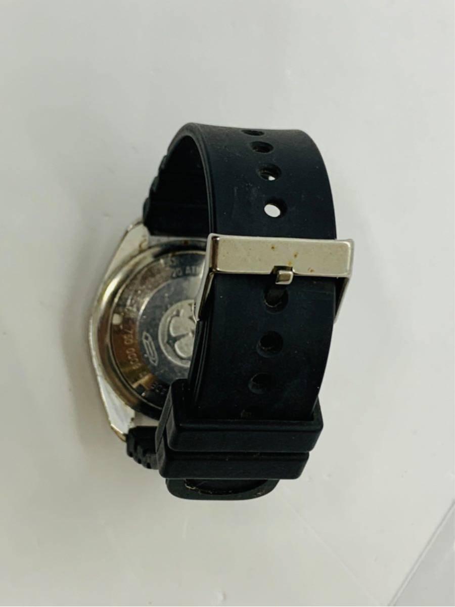 TECHNOS 腕時計 SKYDIVER QZ 750 0009 ジャンク!_画像5