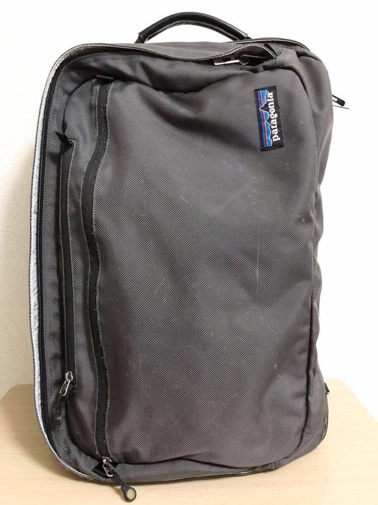 パタゴニア patagonia MLC 48104 バッグ Bag 茶色 ブラウン 45リットル リュック バックパック 通勤 通学 スーツ_画像4