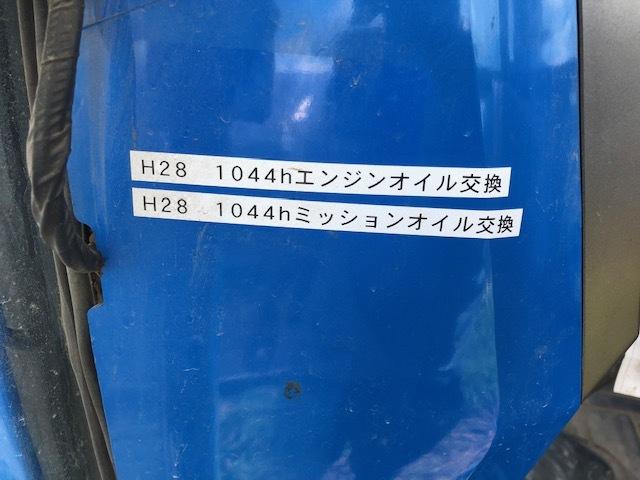 イセキ キャビン付 4WD トラクター【TA527F-GKWLBY 】 エアコン難アリ 中古 純正ロータリー 農機機械 農機具 全国【格安送料】にて納品OK!_画像10