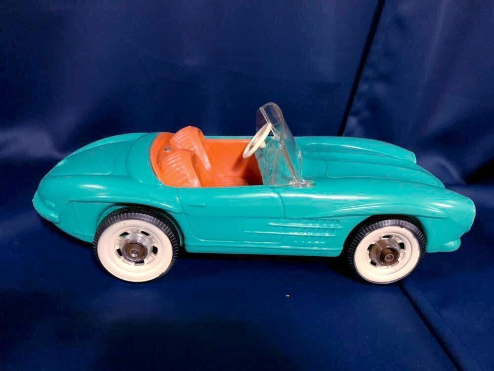 1960s 1/6 IRWIN Mercedes Benz SL vintage barbie Car 60年代 アーウィン ベンツ ヴィンテージ バービー フィギュア 人形 自動車 車_画像7