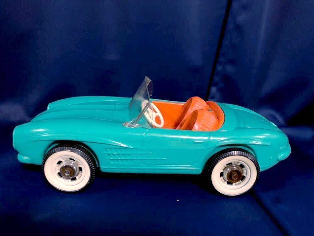 1960s 1/6 IRWIN Mercedes Benz SL vintage barbie Car 60年代 アーウィン ベンツ ヴィンテージ バービー フィギュア 人形 自動車 車_画像8