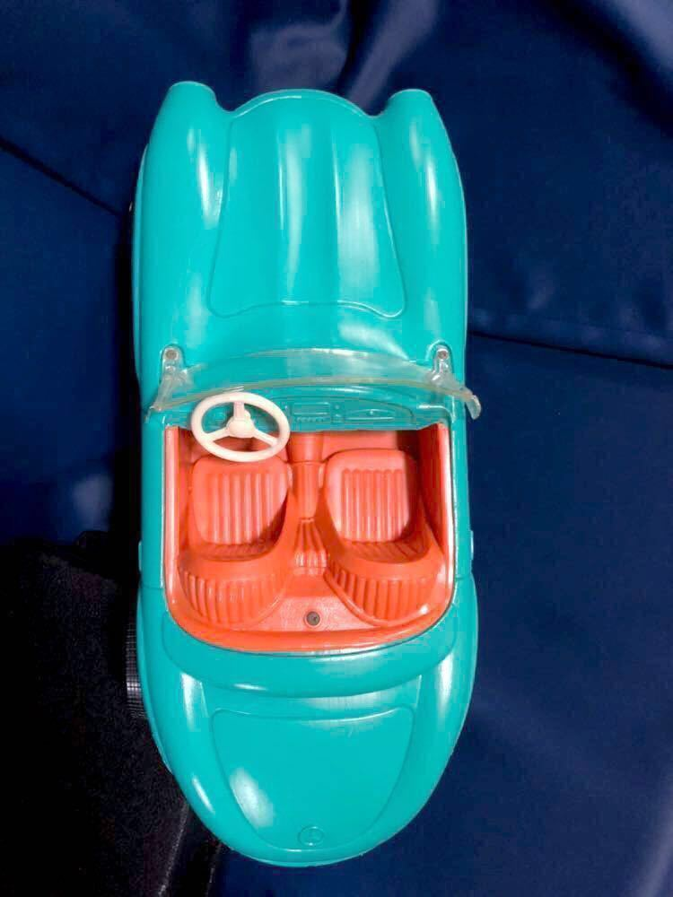 1960s 1/6 IRWIN Mercedes Benz SL vintage barbie Car 60年代 アーウィン ベンツ ヴィンテージ バービー フィギュア 人形 自動車 車_画像3