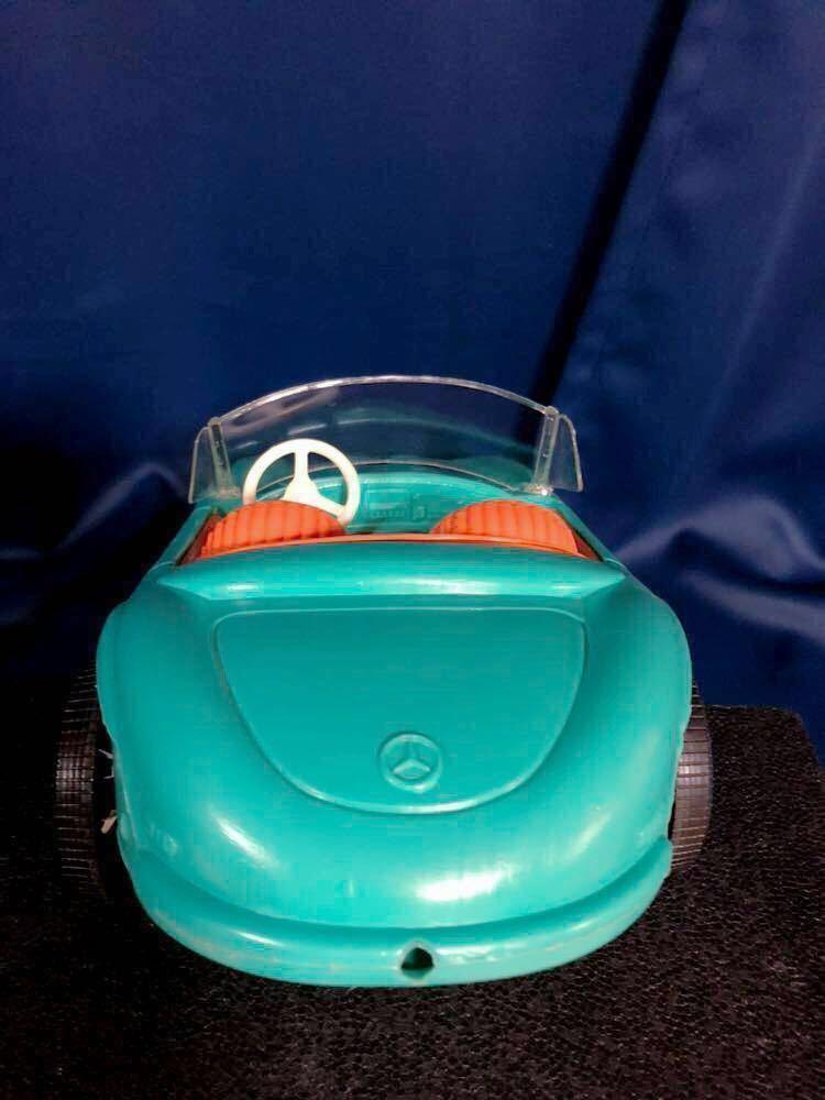 1960s 1/6 IRWIN Mercedes Benz SL vintage barbie Car 60年代 アーウィン ベンツ ヴィンテージ バービー フィギュア 人形 自動車 車_画像6