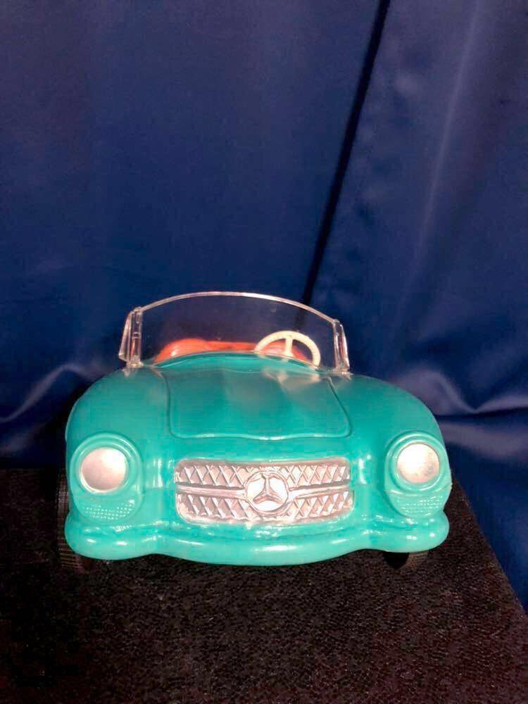 1960s 1/6 IRWIN Mercedes Benz SL vintage barbie Car 60年代 アーウィン ベンツ ヴィンテージ バービー フィギュア 人形 自動車 車_画像5