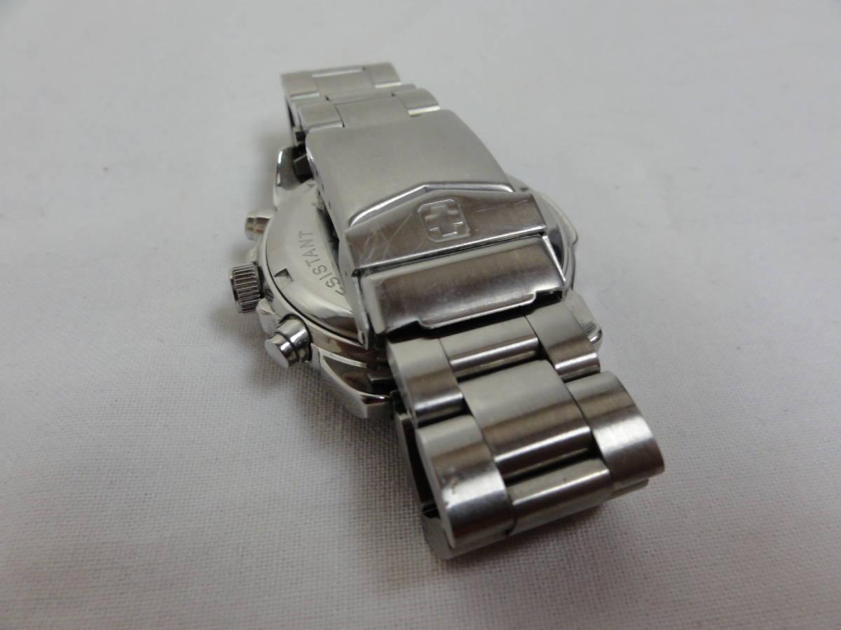 稼働品★スイスミリタリー(SWISS MILITARY) 2154M 腕時計 メンズ 腕回り約17cm_画像7