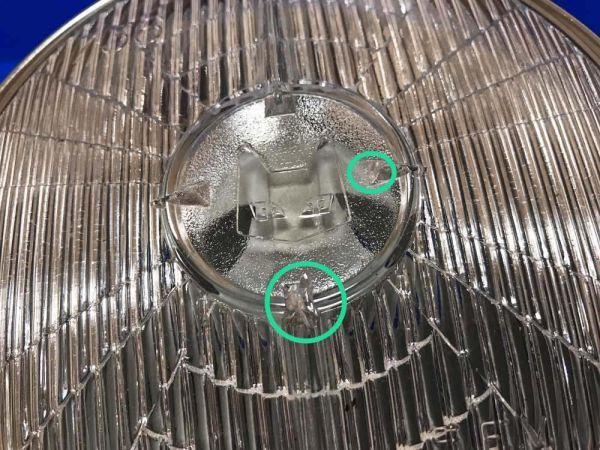 マーシャル当時物 旧車 ライト G6-178 内猫キティ 白レンズ 超希少 KH250 KH400 Z Z400FX GP Z2 RS GS SS GT KH XJ RZ CB750 CB400 CBX CBR_画像5