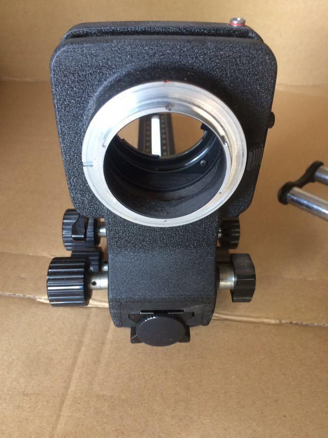 NIKON ニコン bellows ベローズ pb-6 フォーカシング velbon macro slider カメラ機材 _画像4