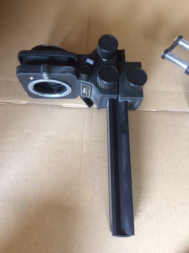 NIKON ニコン bellows ベローズ pb-6 フォーカシング velbon macro slider カメラ機材 _画像3