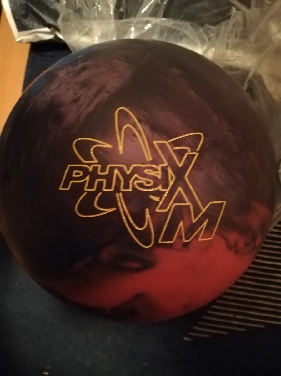 フィジックスM 新品 storm ボウリングボール