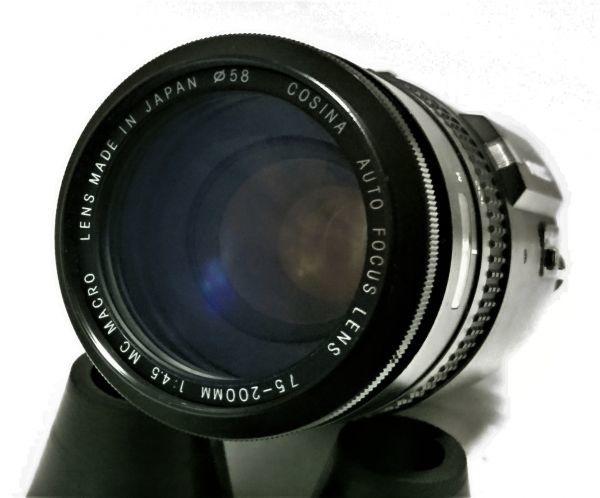 ★特上★COSINA コシナ AF 75-300mm F4.5 MC MACRO ニコン用★完動品★214