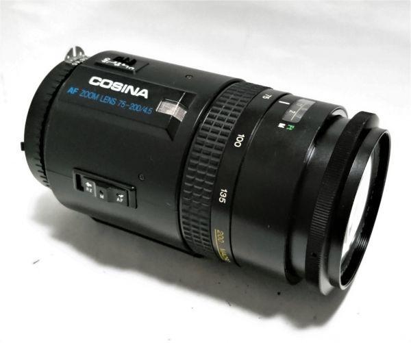 ★特上★COSINA コシナ AF 75-300mm F4.5 MC MACRO ニコン用★完動品★214_画像2
