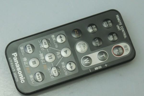 Panasonic. video for remote control VEQ1721 operation OK*