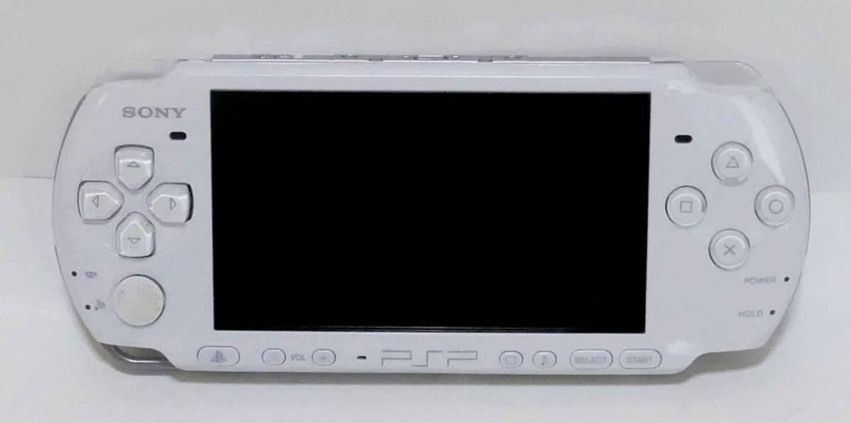☆SONY PSP-3000本体 +Memory Stick Pro Duo2G+ACアダプター+ソフト3本英雄伝説他+化粧箱 ☆_画像2