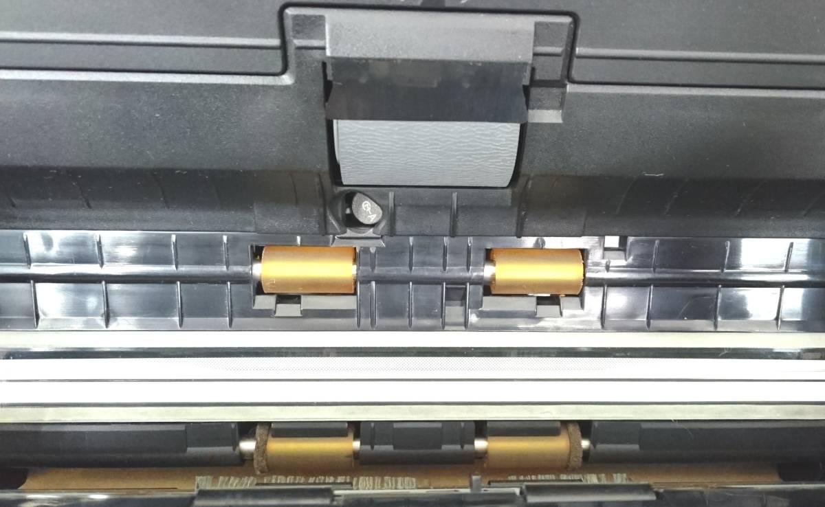 FUJITSU 富士通 スキャナ ScanSnap S1500 2台セット 通電確認済みです。ジャンク扱いです。_画像6