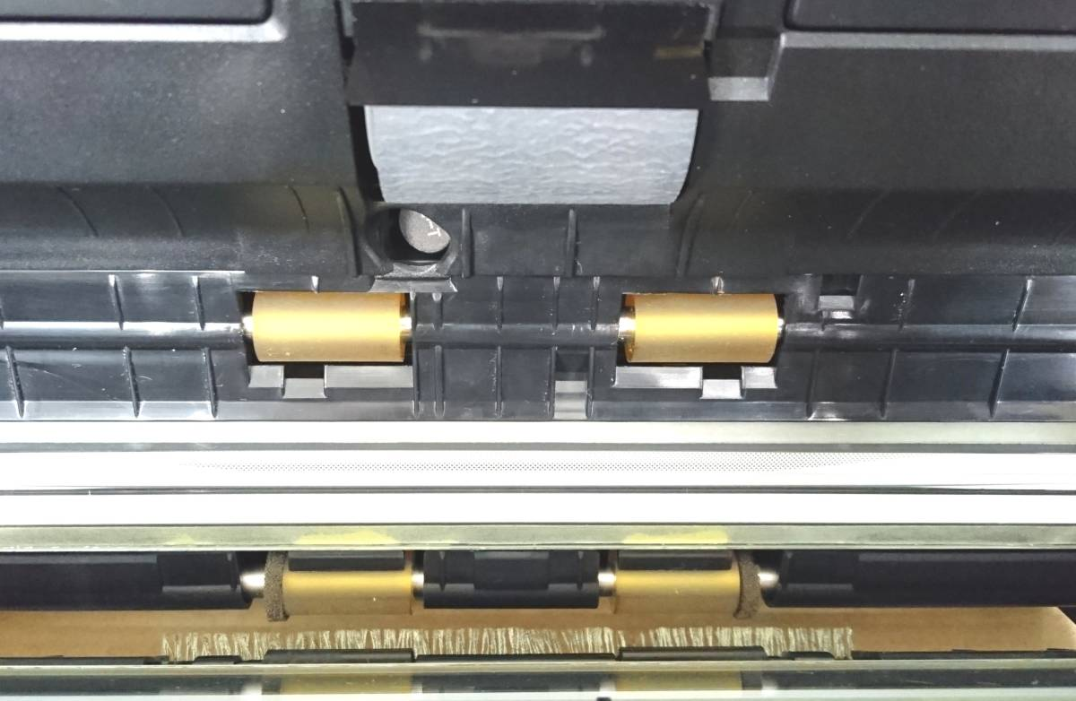 FUJITSU 富士通 スキャナ ScanSnap S1500 2台セット 通電確認済みです。ジャンク扱いです。_画像7