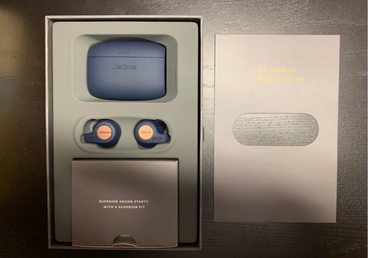 中古美品 Jabra Elite Active 65t Copper Blue コッパーブルー Bluetoothイヤホン_画像2