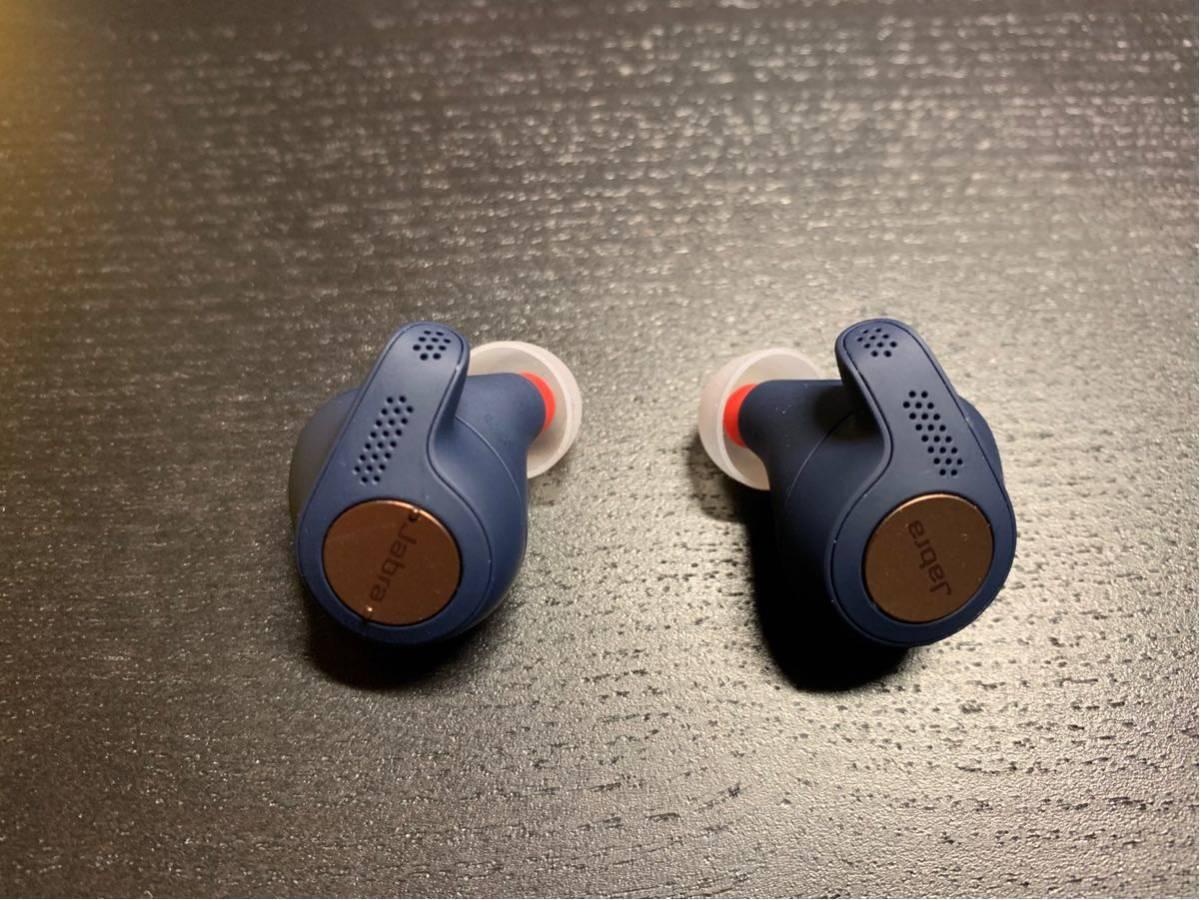 中古美品 Jabra Elite Active 65t Copper Blue コッパーブルー Bluetoothイヤホン_画像3