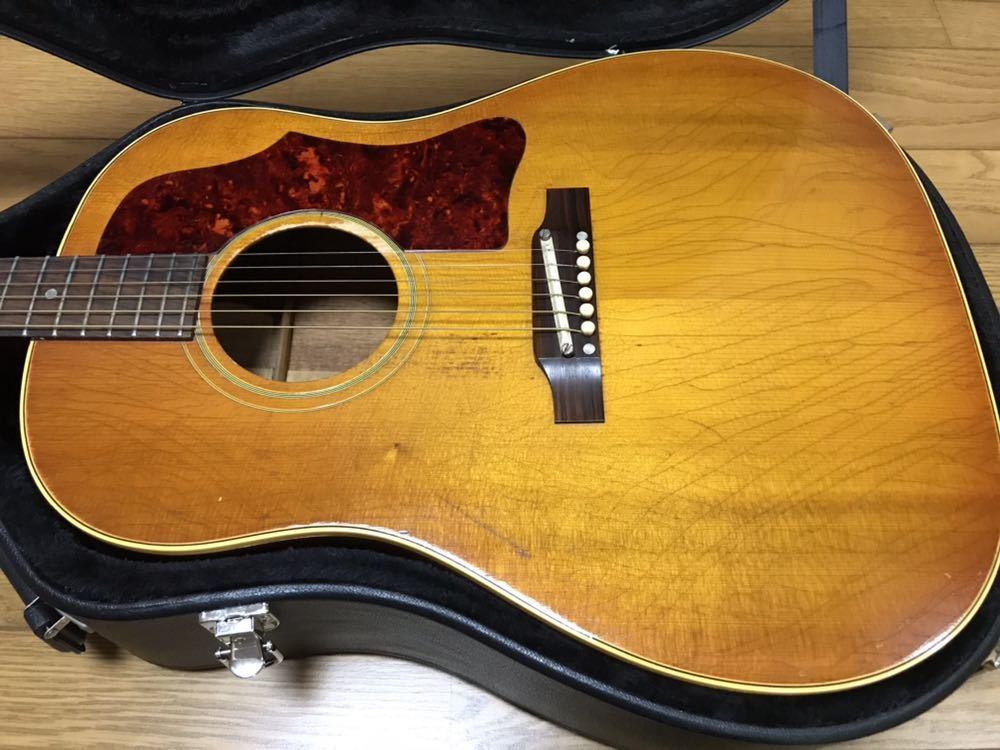Gibson J-45 1966年製ビンテージ 楽器店保証付き_画像6