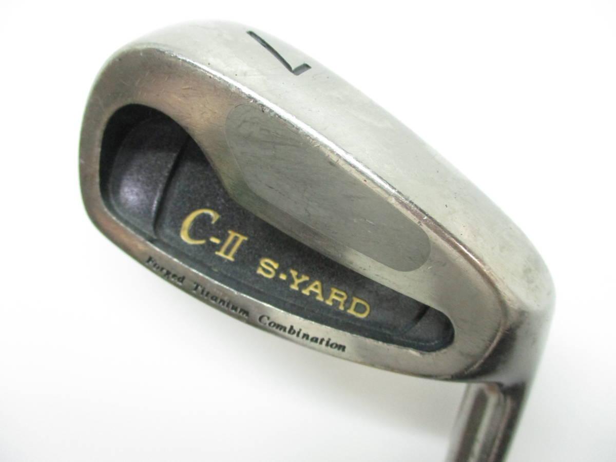 初心者お勧め! 大人の高級ゴルフセット (R) セイコー S-YARD 打ちやすいキャビティバック&カーボンシャフト キャディバッグ付き_画像6