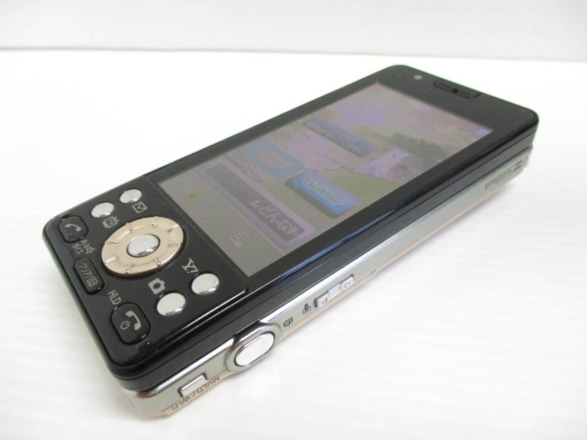 送料一律350円 SoftBank LUMIX Phone 001P ゴールド_画像4