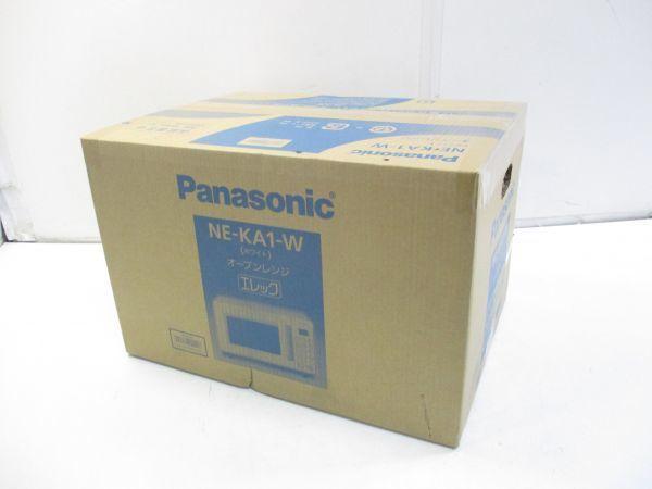 ○新品 Panasonic パナソニック オーブンレンジ エレック NE-KA1-W ホワイト 18年製 B-5914○